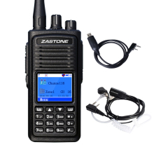 Zastone D900 DMR Digital Radio UHF 400-470MHz 1000CH Walkie Talkie 5W Two way radio Digital Walkie Talkie CB Ham Transceiver