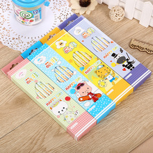 Cute Kawaii Hello Kitty Wooden Standard Pencil Lovely Cartoon Animal Pencils For Kids School Material Free Shippingg 3006-3
