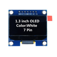 Buy 1.3 inch OLED Module White Color 128X64 OLED LCD LED Display Module 1.3 IIC I2C Communicate arduino Diy Kit for $4.38 in AliExpress store