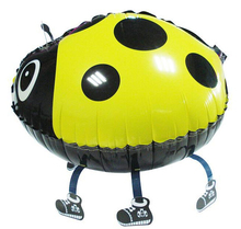 ladybug balloon walking balloons animals inflatable air ballon for party supplies kids classic toy 56*43cm(China)