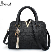 good quality women handbag pu leather luxury brand pu leather women handbag shoulder bag famous designer women tote bag SC0411(China)