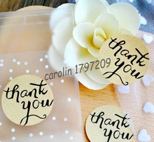 120pcs/lot Seal Label Sticker Thank You Tag Gift Tag Label Marks Decorations Fashion DIY Accessories vintage wedding decoration