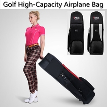 brand PGM, Golf thicker airplane bag with wheel, Big containing space flexible application  to save space, easy  carried