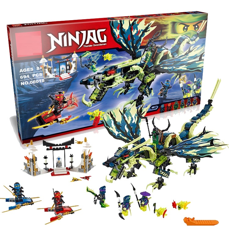 06037 Compatible Ninja Minis Toys Dolls figures The Lighthouse Siege 70594 Building blocks Figure Toys For Children<br>
