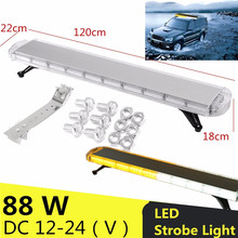 42/47/51 Inch LED Work LightBar Car Tow Truck Traffic Beacon Transport Strobe Warning Emergency Light Bar Lamp 12V/24V