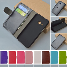 For HTC One M8 Mini Flip PU Leather Case For HTC One mini 2 Cover Book Style Wallet phone cases J&R Brand 9 colors