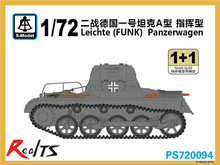 RealTS S-model PS720094 1/72 Leichte(FUNK)Panzerwagen plastic model kit(China)