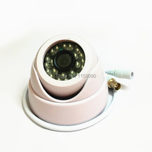 720P Indoor HD 1MP AHD Security  24Leds IR color CCTV Camera Dome Night Vision,6mm 1080p lens