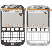 New LCD Display Touch Screen Digitizer Assembly + Bezel Frame Housing For Blackberry Bold 9720+Tools+Tracking