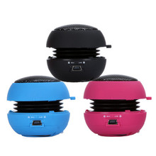 2018 Smarcent Mini Hamburger Speaker Portable Amplifier 3.5mm For MP3 iPhone iPod PC Laptop(China)