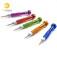 BeHelper [5 in 1] Professional Screwdriver Set,Aluminum Alloy Precision iphone Samsung Galaxy Smart Phone Repair Dismantle Tools(China)