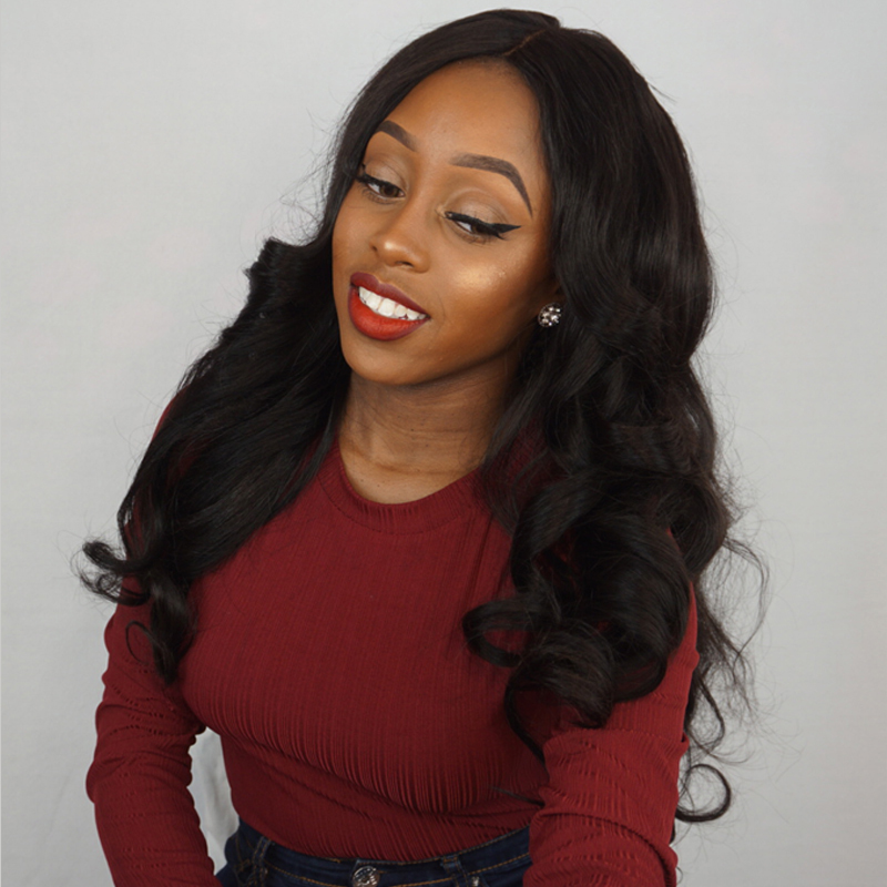 Lace Frontal Closure Body Wave Brazilian Virgin Human Hair Free Part Lace Prepluncked with Baby Hair 10-20