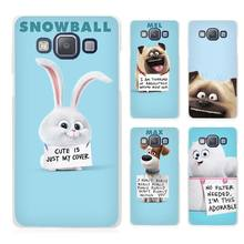 The Secret Life of Pets Clear Transparent Cell Phone Case Cover for Samsung Galaxy A3 A5 A7 A8 A9 2016 2017