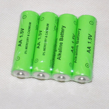 4pcs UNITEK 1.5v AA rechargeable battery 14500 alkaline cell 3000mah for led flashlight toys clock camera remote control