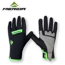 2016 Merida Bike Gloves Team MTB Waterproof Winter Cycling gloves Bicycle Full Finger Gloves Shockproof ciclismo cycling glove