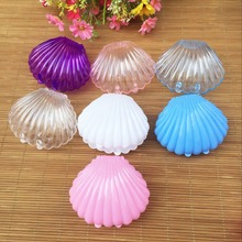 10pcs Shell Wedding Favor Boxes Wedding Candy Box Casamento Wedding Favors And Gifts baby shower party favours souvenirs(China)