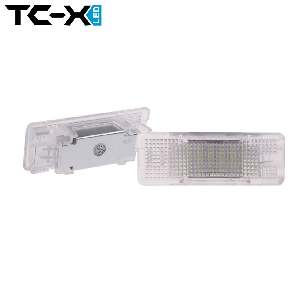 TC-X 2Pcs White 18 SMD Car Number License Plate Light Lamp for BMW E53footwell&amp;under doors front+rear E39 footwell &amp; under doors<br><br>Aliexpress