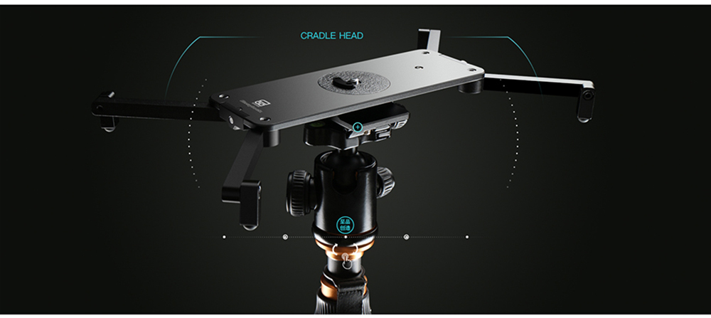 Portable Micro 2 Professional Camera Video Slider Travel Track Slider Dolly Track Rail for DSLR ARRI Mini RED BMCC  Iphone X  22