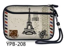 "Paris Portable 2.5"" External Storage USB Hard Drive Disk HDD Carry Case Cover Multifunction Cable Earphone Pouch Bag(China)"