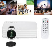 Mini LED LCD Projector Wifi Portable Projectors GP-9 Home Theater Game Beamer Support HDMI USB SD AV HD Video Media Player