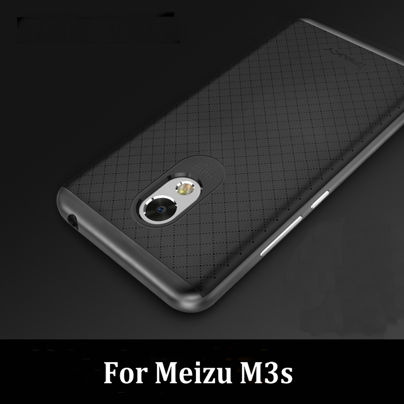 Original iPaky Brand Meizu M3s/ M3 Mini Luxury Fashion Armor Silicone Back Cover Frame Case M3s mini  -  Shenzhen Dayup Technology Co., Ltd. store