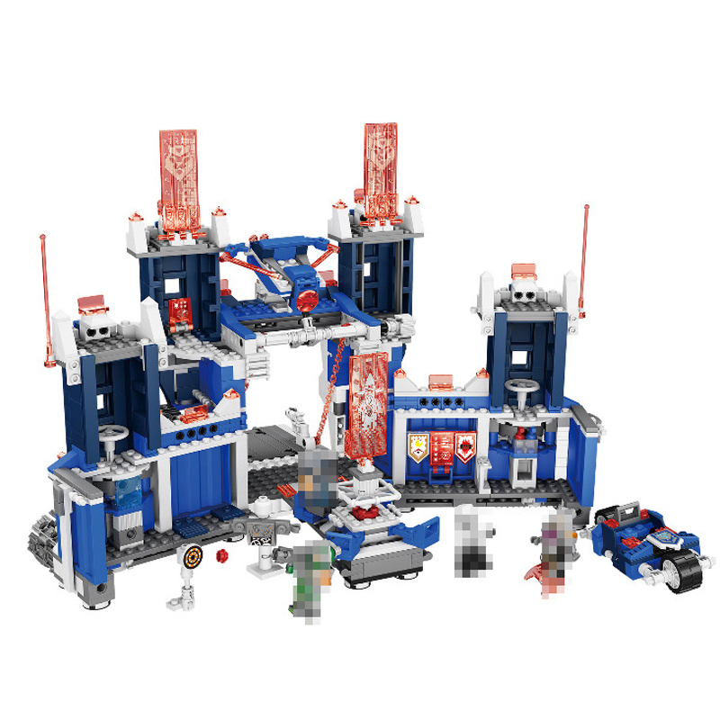 Lepin 14006 1115Pcs Nexoe The Fortrex Nexus Knights Building Blocks Bricks kit Toys Set Castle Weapon Clay Aaron Fox Axl 70317<br>