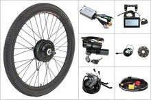 Free Shipping 36V 350W 8Fun Bafang Front Hub Motor Ebike Conversion Kit Controller, Throttle, Brake For Electric Bicycle