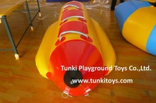 3 Seats inflatable single hull banana boat for sale