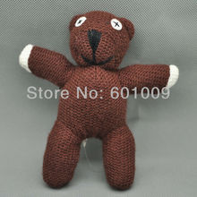 "Free Shipping EMS 100/Lot Mr Bean Teddy Bear Plush Soft Doll Toy 5.5"" Wholesale"