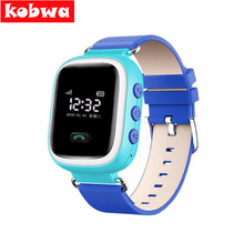 5PCS/LOT Q60 Children Smart Watch Phone Anti Lost GPS Tracker Watch for kids SOS Emergency GSM Mobile Phone App For ios android
