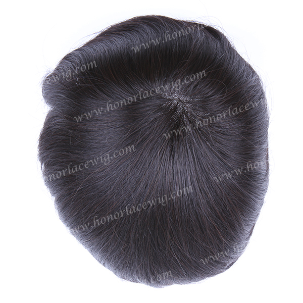 High quality factory price 4 inches 6inch natural black super fine mono lace mens touper  toupee custom order personal size<br><br>Aliexpress
