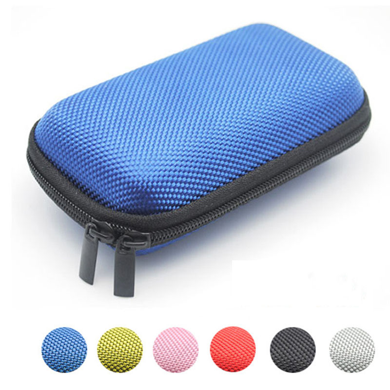 1pcs New Small Hot Selling Earphone Storage Bag Carrying Case for Earphone font b Power b