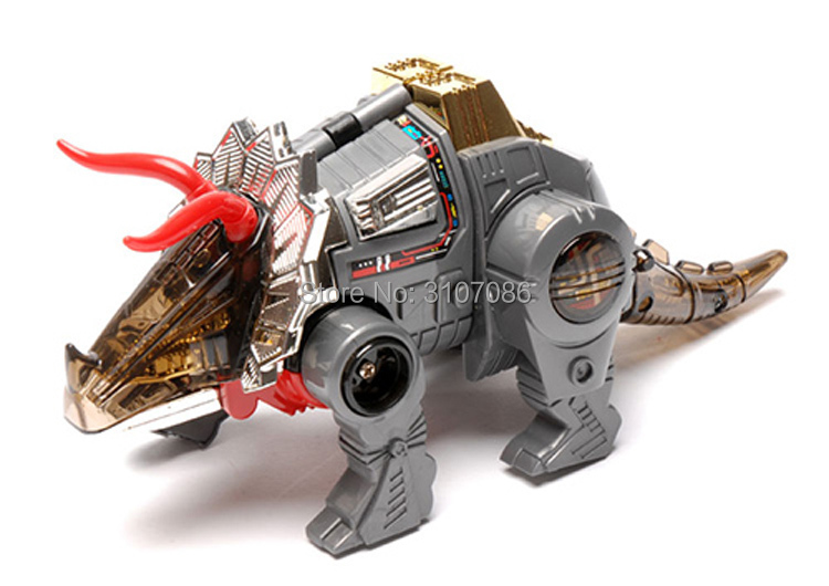 Transformers G1 Reissue Dinobots SLAG Clear Christmas Birthday Gift Toy Robot