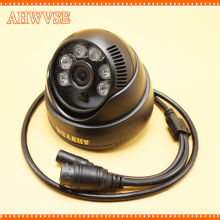AHWVSE Black HD IP Camera 720P Mini IR Dome Security Camera Indoor 1MP with NVSIP application