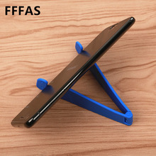 FFFAS Mobile Phone Stand Foldable Holder Stent Support for Apple Iphone Xiaomi Huawei OPPO Letv 5 6 7 8 Electronic Commerce gift(China)