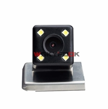 600L CCD Night Vision 4 LED Car Rear View Backup Reverse Camera for RENAULT DUSTER 2013 Parking Kits(China)