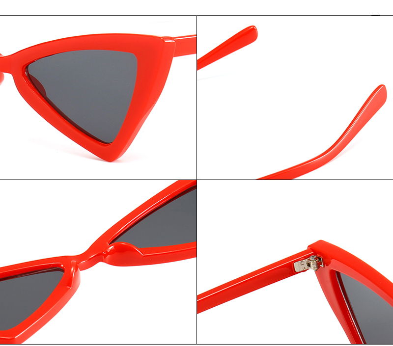 red triangle sunglasses women cat eye 0343 details (10)