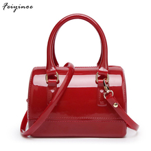 Women handbag message bag mini bag candy color jelly bag