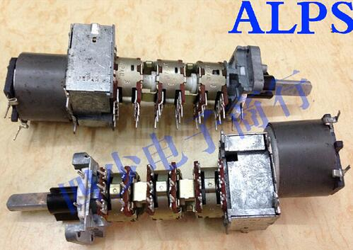 [VK] Japan ALPS 16 type motor switches 6 came lamp 100KX6 axial length 16mm 1PCS/LOT FRESHIPPING!<br><br>Aliexpress