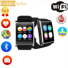 Smartch smart watch X11 with bluetooth GPS WiFi sport tracker sleep monitor remote control camera 5 MP video support 3g Nano SIM(China)