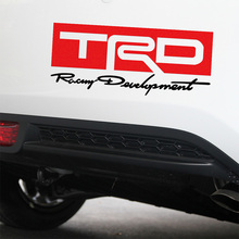 Customization TRD Sport Car Stickers Decal Car-Styling For TOYOTA corolla 2014 avensis rav4 auris yaris car accessories