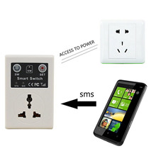 EU Plug Power Socket Wireless App Cellphone Phone Remote Control PDA GSM RC Socket Power Smart Switch