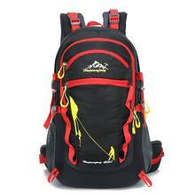 Lightweight Mountaineering Bag 40L Oxford Waterproof Travel Backpack for Female Male Knapsack Trekking Bags Rucksack Z1(China)