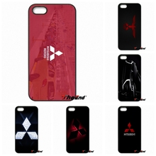 Mitsubishi Motors Car Logo Original Phone Cover For Xiaomi Redmi Note 2 3 3S 4 Pro Mi3 Mi4i Mi4C Mi5S MAX iPod Touch 4 5 6