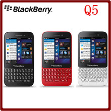 Q5 Original Unlocked Blackberry Q5 Dual Core 5.0MP 8GB ROM 2GB RAM QWERTY Keyboard Bluetooth Smartphone Free Shipping