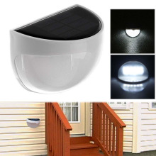 PROBE SHINY Waterproof IP55 6-LED Solar Lamp Power Garden LED Solar Light Outdoor Wall Solar Power Lamp For Street Yard Path