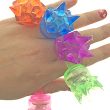 20pcs/lot Flicker finger ring colorful cheap light up toy fashion led rings for kids birthday party supplies luminous ring