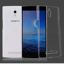 New High Quality Crystal Clear Hard Case DIY Cover For Oppo Find 7 7a X9007 X9077 Free Shipping(China)