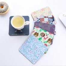 2 Piece New Lytwtw's Dining Table Placemat Coaster Kitchen Accessories Fabrics Rubber Mat Cup Bar Mug Drink Pads
