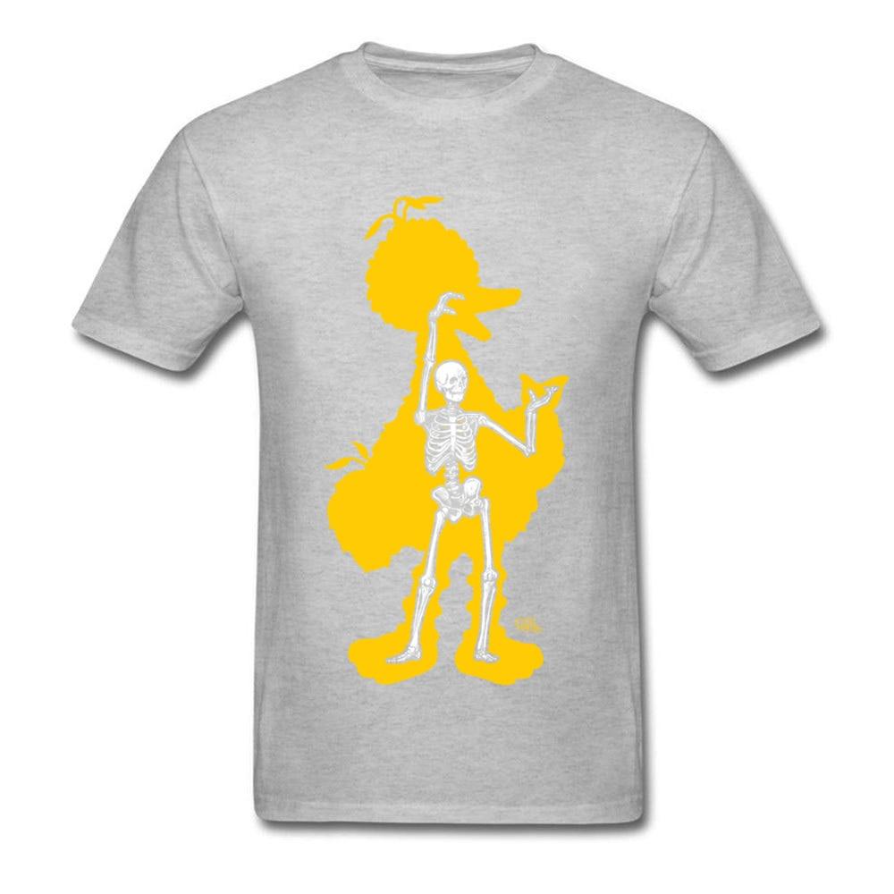 bird x ray 11689 Men Funky Tops & Tees Round Neck Summer Fall 100% Cotton Fabric T-Shirt Normal Short Sleeve Tee Shirts bird x ray 11689 grey